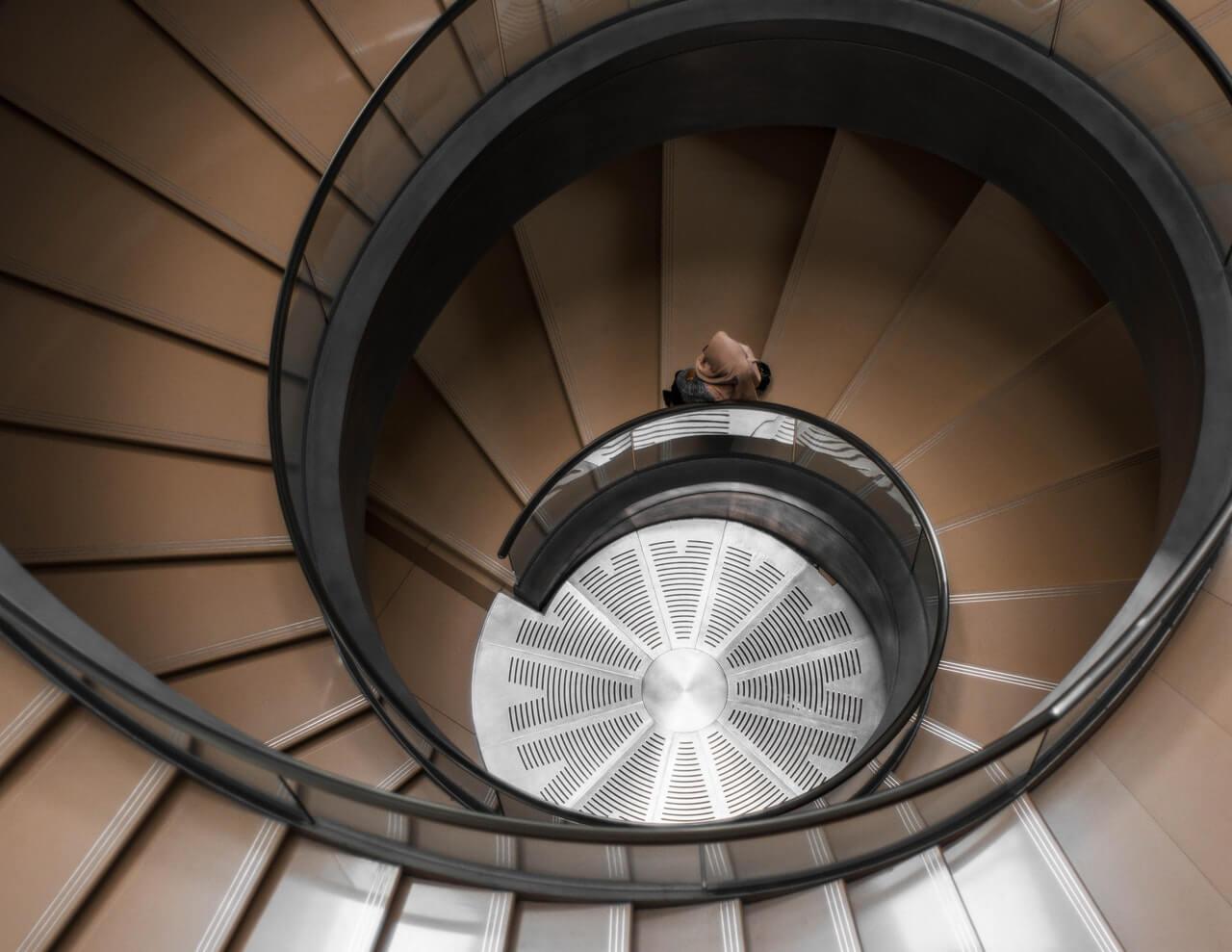 階段と平屋の関係