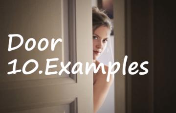 ゼロキューブのドア事例10選!購入者のアドバイスも教えます!